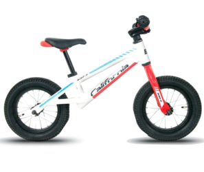 "Беговел BH Беговел California Push BIke 12"" 2018 біговел (White/Red/Blue, 12"")-photo"
