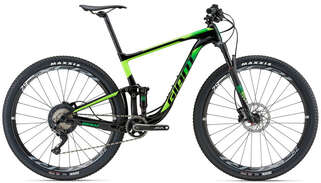 GIANT Велосипед Anthem Advanced 29`er 1 18 Black-Green-photo