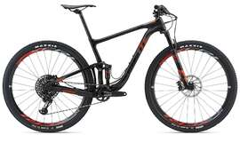 Велосипед GIANT Anthem Advanced Pro 29'er 1  Matte Carbon Smoke/Gloss Neon Red/Silver 18-photo