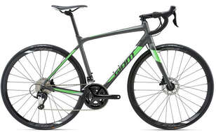 Велосипед GIANT Contend SL 1 Disc Matte Charcoal/Neon Green 18