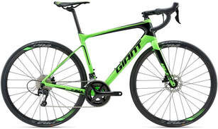 Велосипед GIANT Defy Advanced 2 18 Green-photo