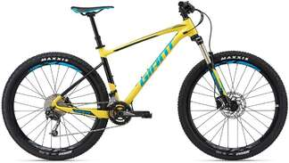 Велосипед GIANT Fathom 3 Yellow/Black/Blue 18-photo