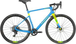 Велосипед BERGAMONT Grandurance CX Team cyan/neon yellow (matt) 18-photo
