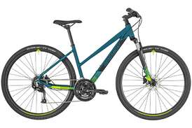 Велосипед BERGAMONT Helix 3 Lady dark petrol/black/green (matt) 2019-photo