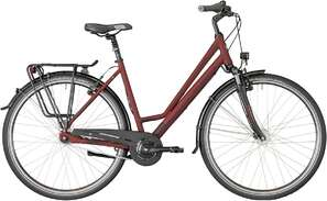 Велосипед BERGAMONT Horizon N7 CB Amsterdam dark red/dark red/black (matt) 18-photo