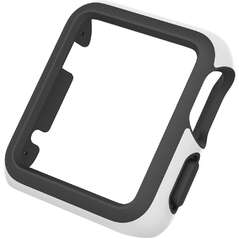 чехол для Apple Watch 42 SPECK SPECK CandyShell Fit Case for Apple Watch 42mm, White/Black  (SPK-A4147)-photo