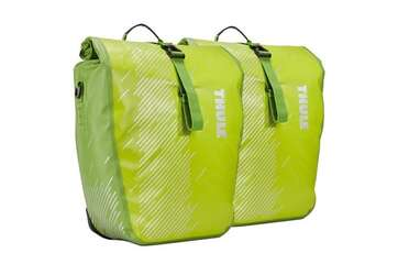 Велосумка THULE Shield Pannier Large (pair) - Chartreuse-photo