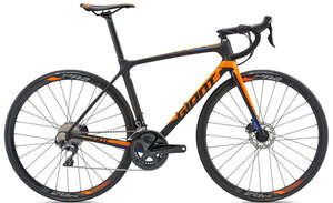 Велосипед GIANT TCR Advanced 1 Disc 18 Black-photo