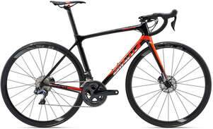 Велосипед GIANT TCR Advanced Pro 0 Disc 18 Black-photo
